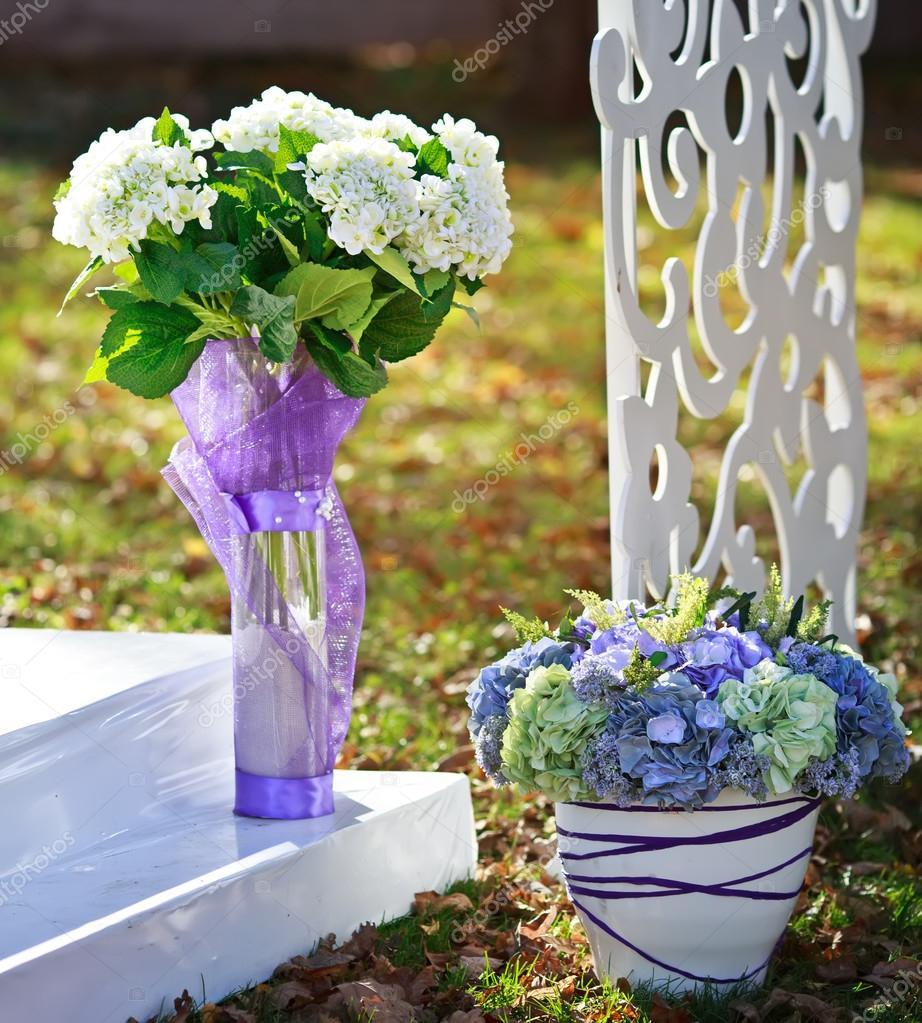 Svatebni Dekorace V Zahrade Stock Fotografie C Manifeesto V 33717357