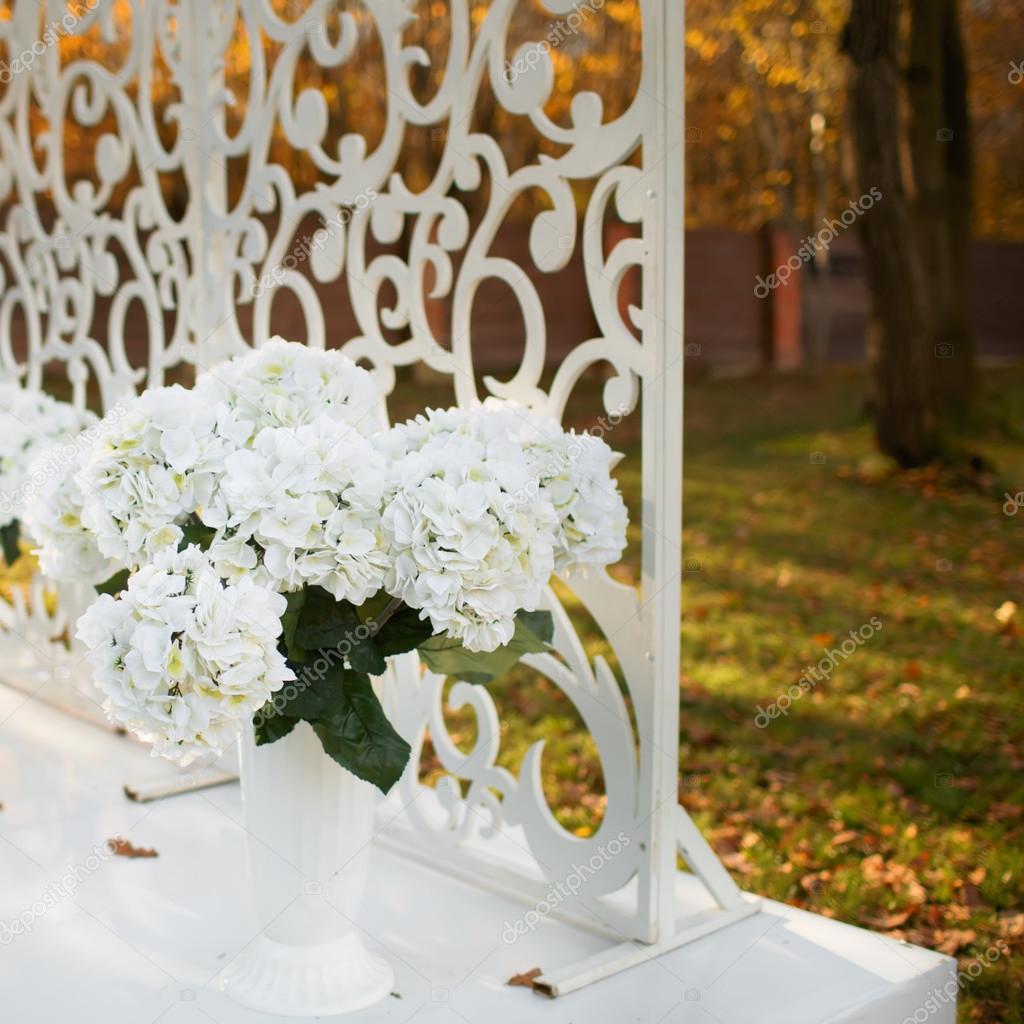Svatebni Dekorace V Zahrade Stock Fotografie C Manifeesto V 34254269