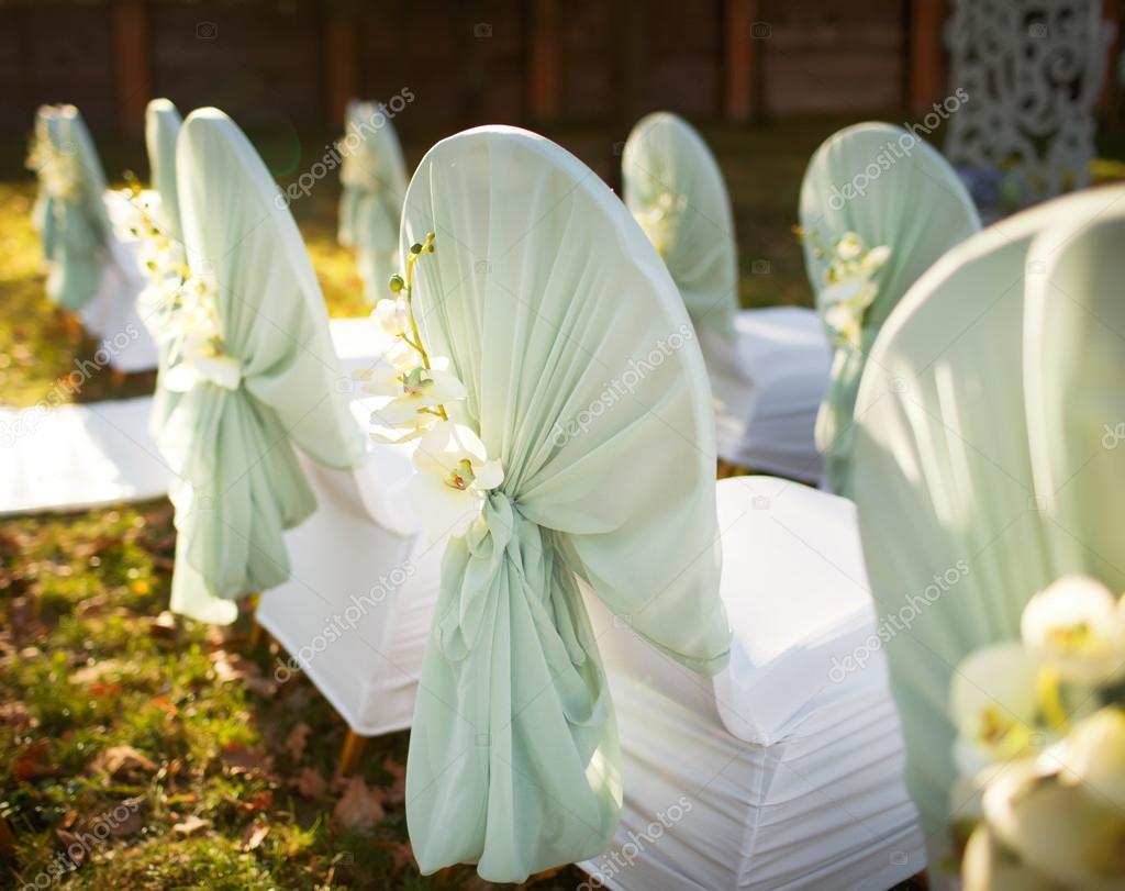 Svatebni Dekorace V Zahrade Stock Fotografie C Manifeesto V 34254323