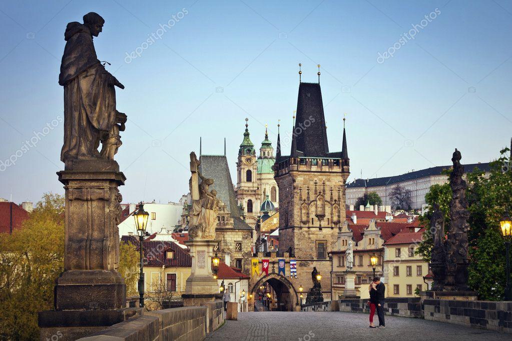 Фотообои Charles Bridge in Prague