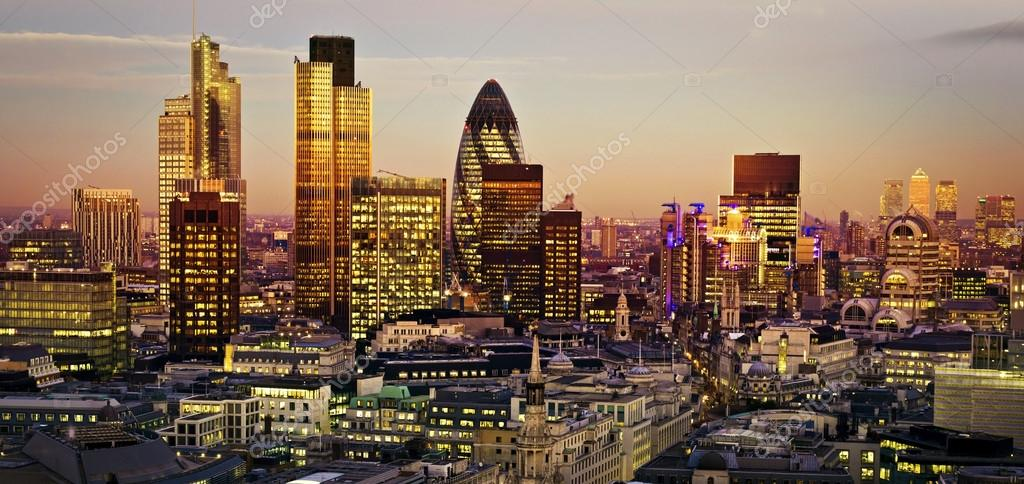 world londons financial district -