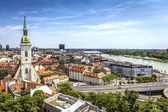 Fotografie bratislavské Panorama