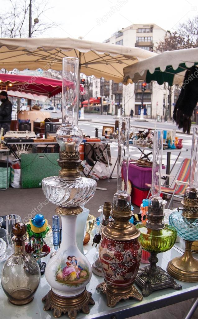Paris December 29 Three Beautifully Ornate Kerosene Lamps