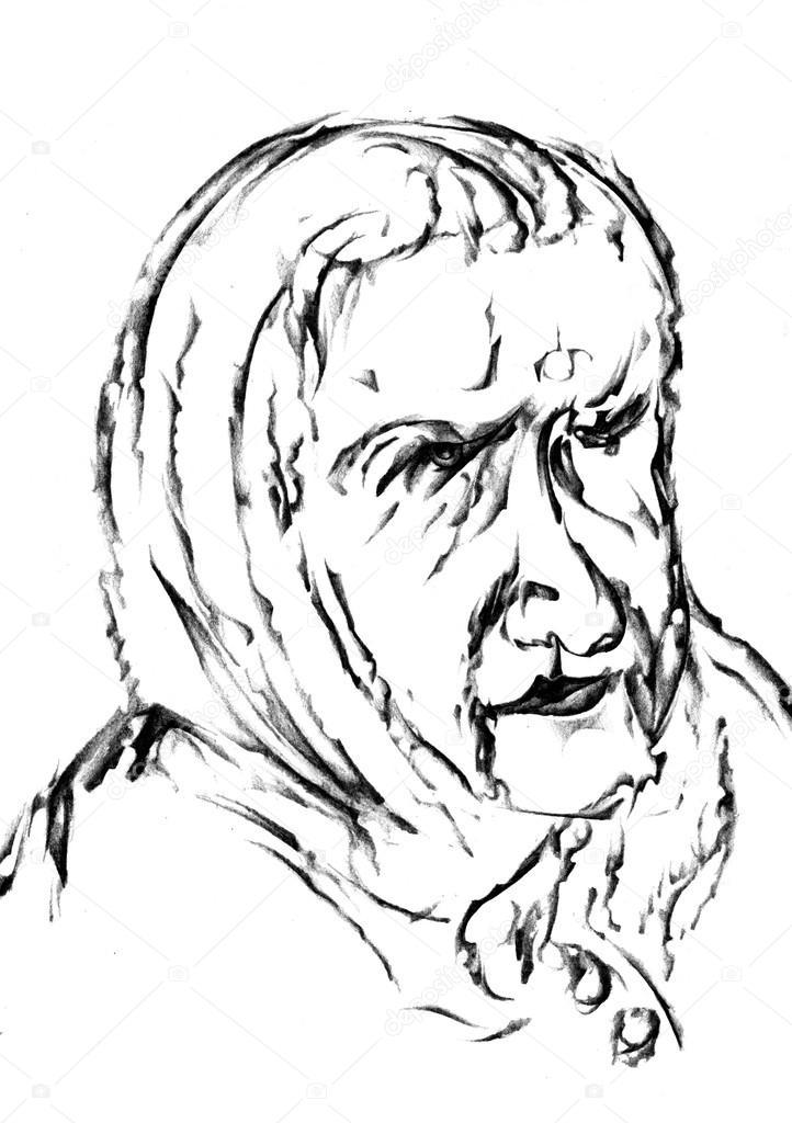 Frau Gesicht Zeichnen Design Stockfoto Maxtor7777 28260887