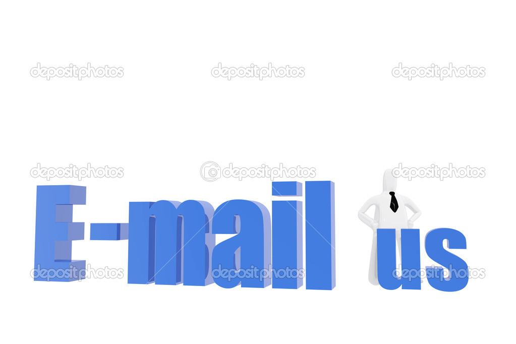 E Mail Us Symbol Stock Photo Genialbaron 25571359