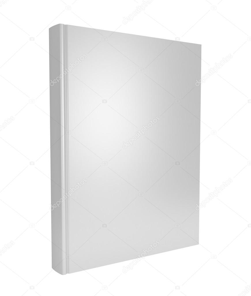 Book Cover White Xanax : 흰색 배경 위에 d 빈 책 표지 — 스톡 사진 newb