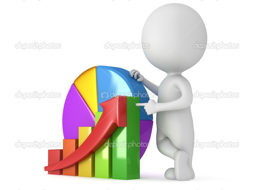 3d man with bar graph and pie chart stock photo newb1 51402919 white man stand near bar graph with red arrow and pie chart 3d render isolated on white strategy success statistic concept photo by newb1 nvjuhfo Gallery
