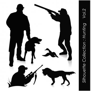 Silhouette Collection : Hunting