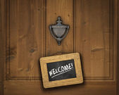Fotografie Welcome Sign