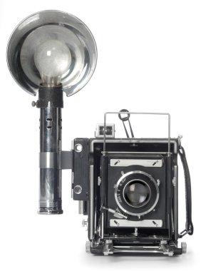 Retro Flash Camera front view
