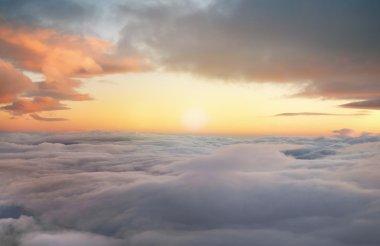 sunrise in the heavens