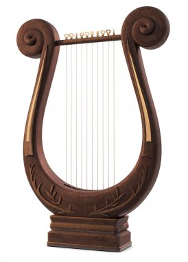 Stringed lyre