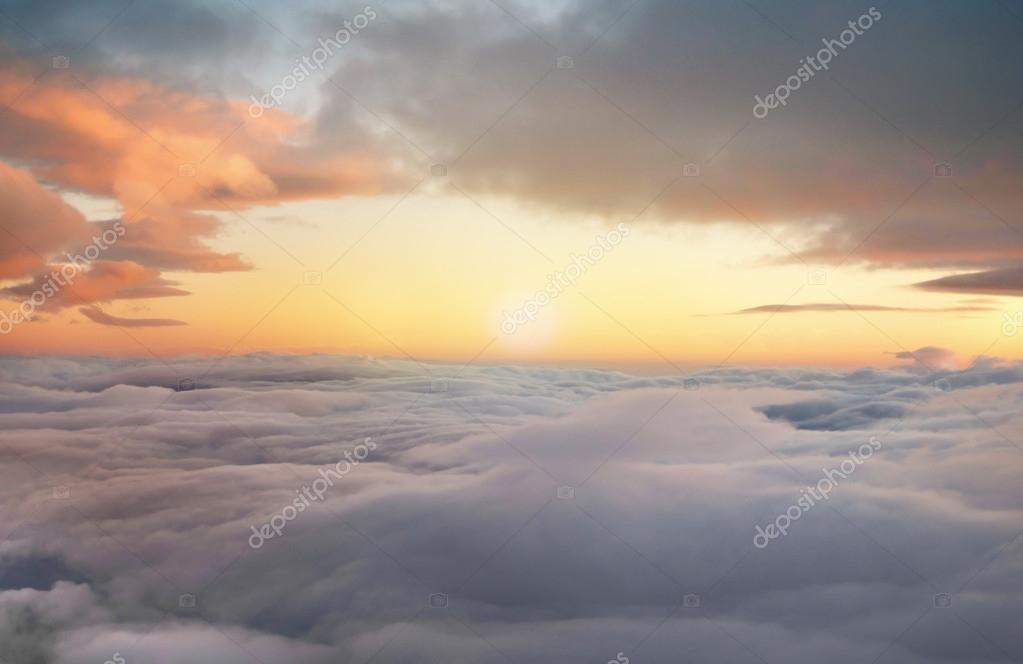sunrise in the heavens
