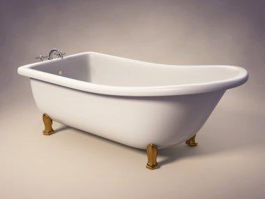 Cast Iron Standing Bathtub