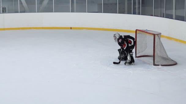 brankář v hokeji