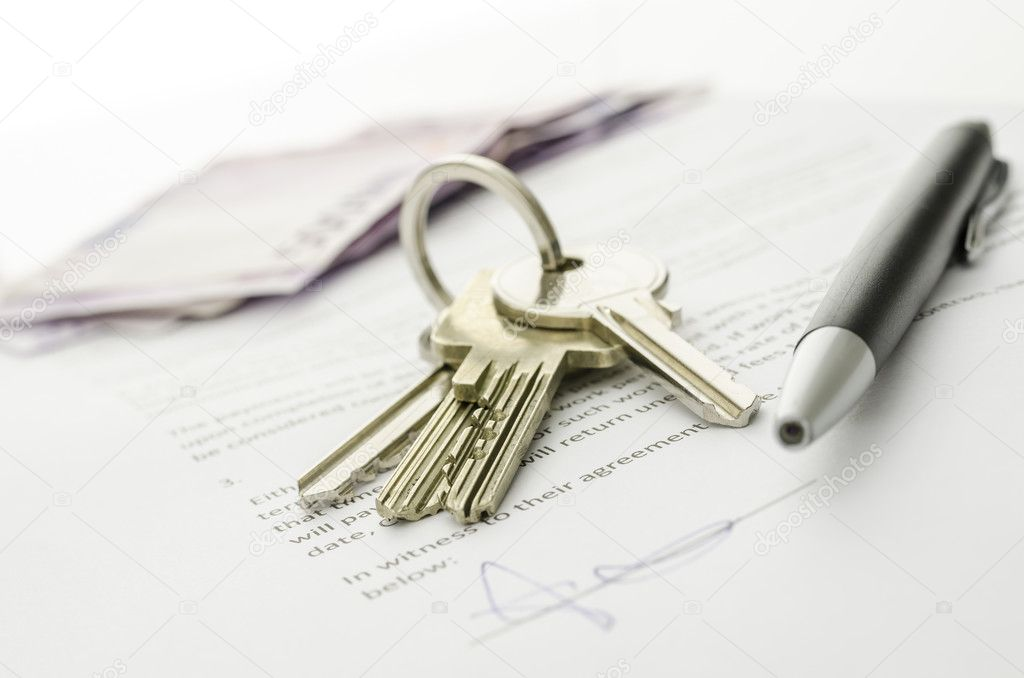 Closed deal of buying a house