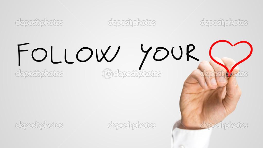 Follow Your Heart Stock Photo Gajus Images 46271167