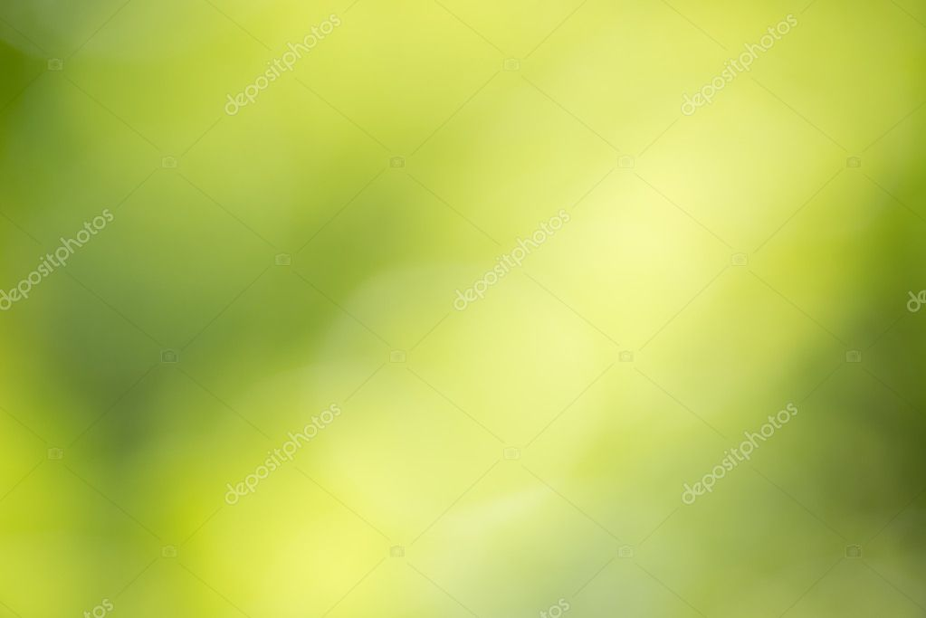 Green background blur