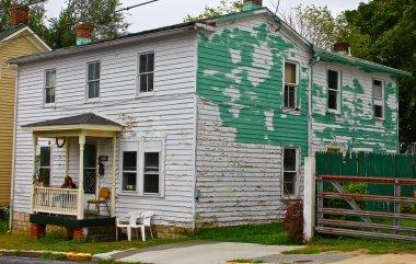 House in Disrepair in Rural Virginia