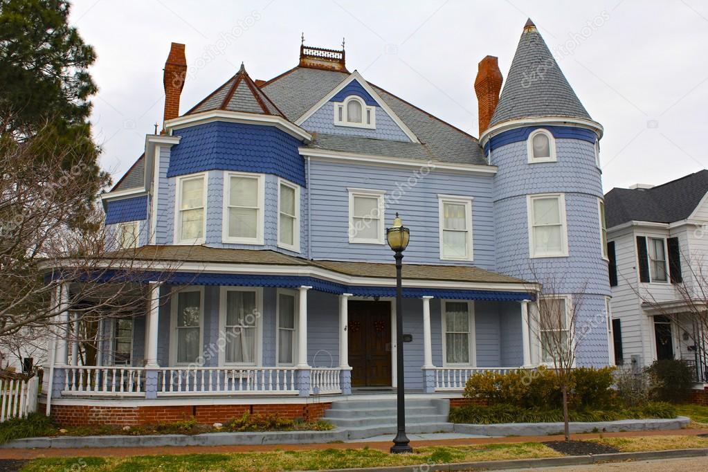 Maison victorienne en virginie de l 39 est photographie mtdozier23 21903315 - Maison victorienne ...
