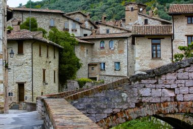 Italian Picturesque, Medieval Hill Town