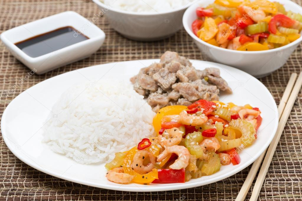how to make chinese food white rice