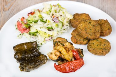 Healthy vegetarian lunch or dinner
