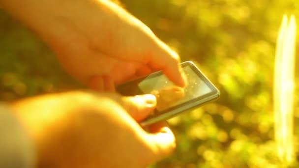 dotykový displej zařízení