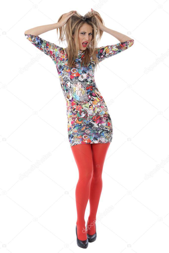 Сексуальные красные мини юбки