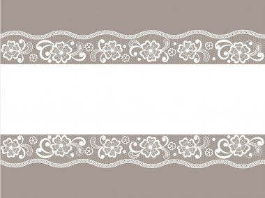 Template frame design for card.