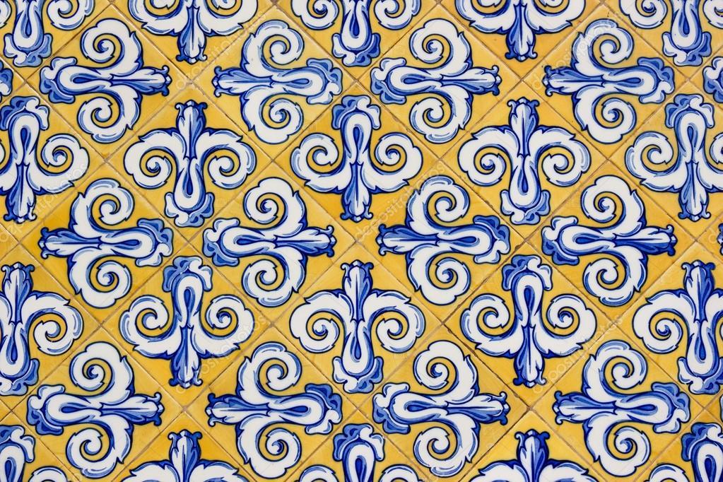 Mattonelle decorate a mano foto stock goghy73 27327421 - Mattonelle in ceramica decorate ...