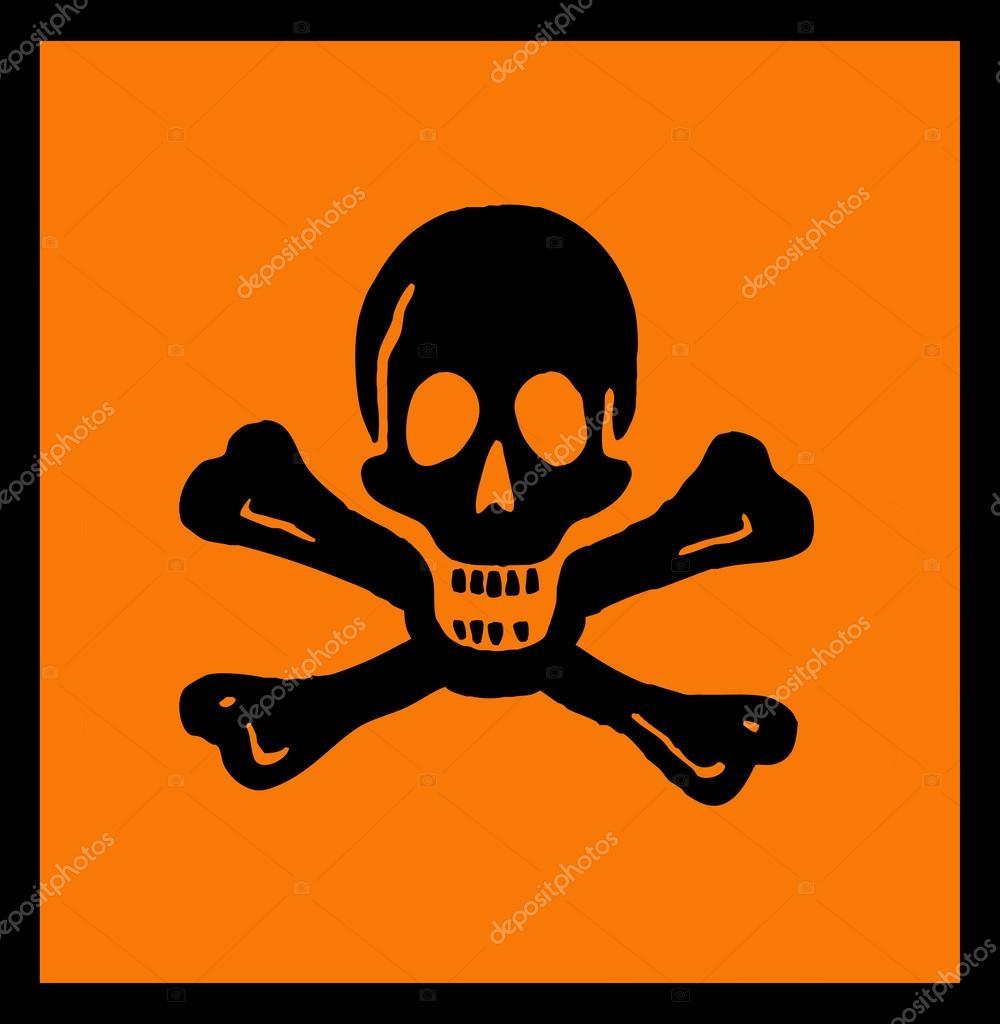 Symbol Of Toxic Products Stock Photo Getino13 48644023
