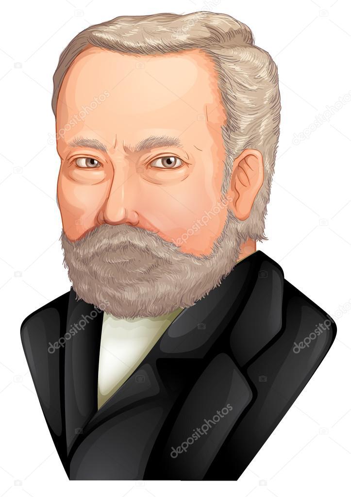 Louis Pasteur Stock Vector Blueringmedia 16809563