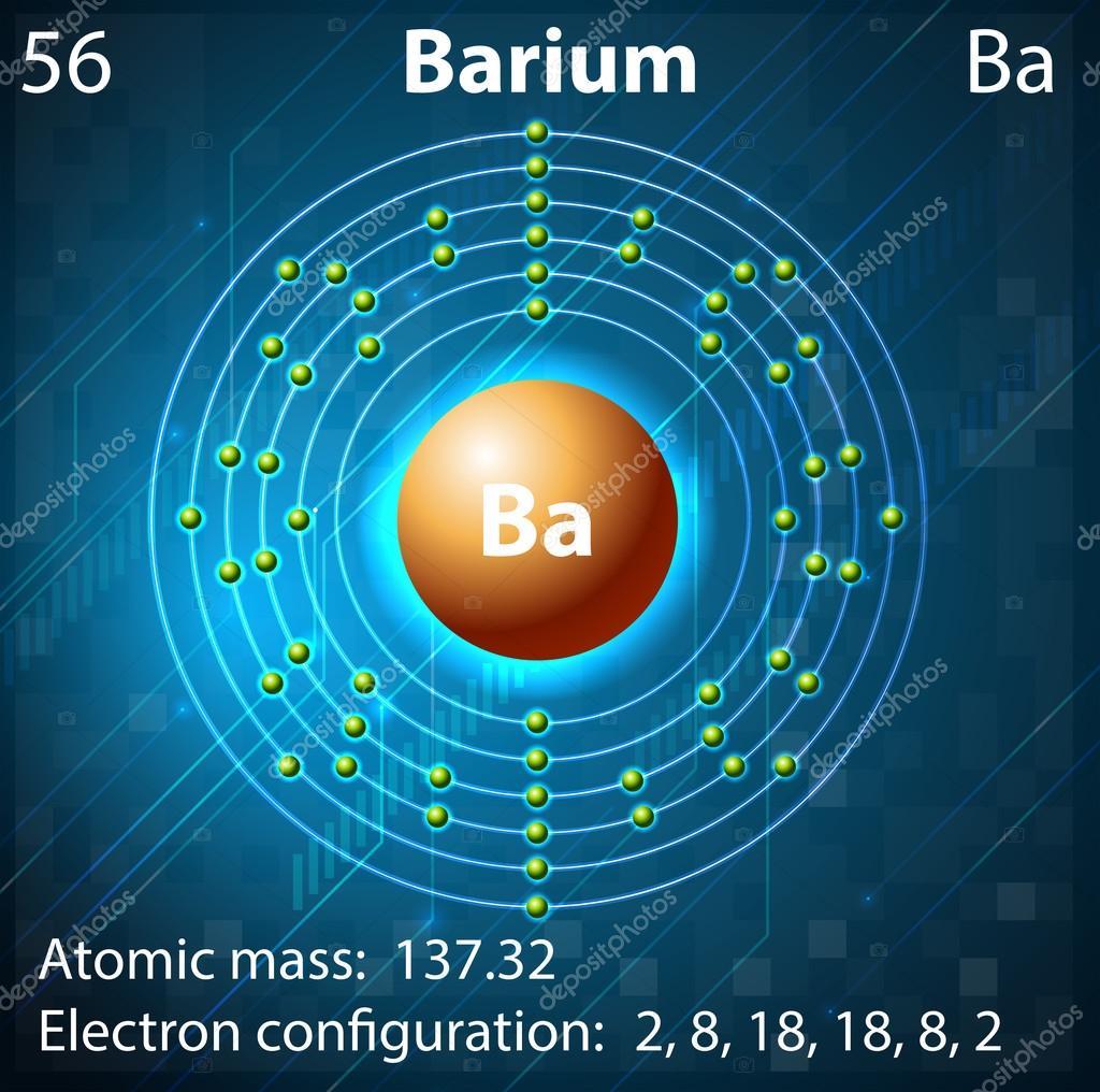 Barium stock vector blueringmedia 30667635 barium stock vector biocorpaavc Images