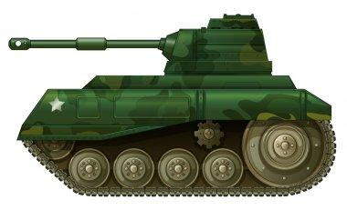 A military tank