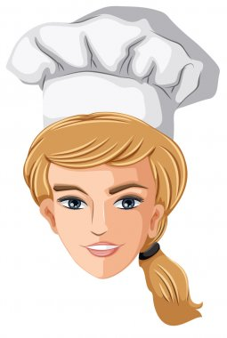 A head of a chef