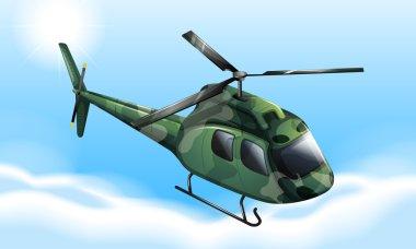 A military chopper