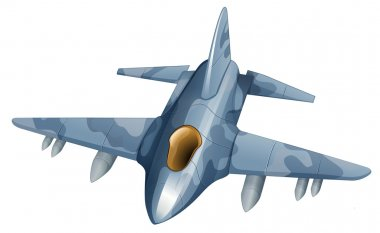 A fighter plane