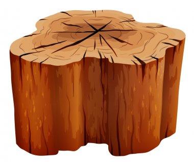 A big stump