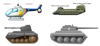 Transportation equipments at the battlefield