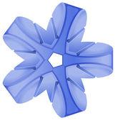 kék absztrakt