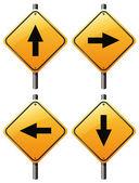 Čtyři šipky značky