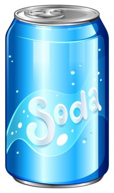 A can of soda