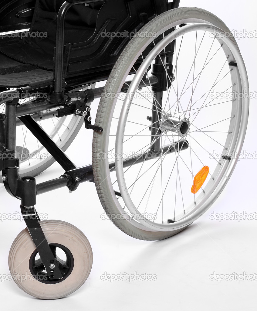 Vehicle for handicapped persons - invalid chair. — Stock Photo ...