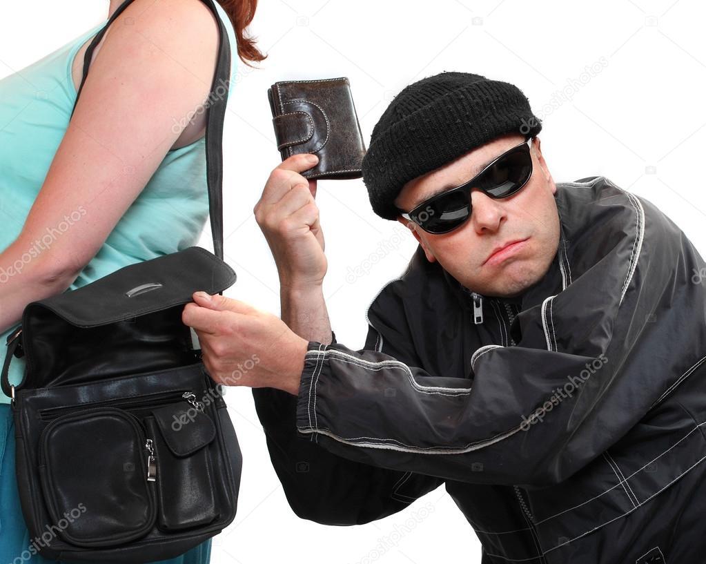 nouvelle arrivee meilleure vente chercher Voleur vol de sac à main d'une femme. notion d'assurance ...