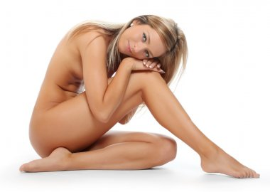 Naked woman with perfect body
