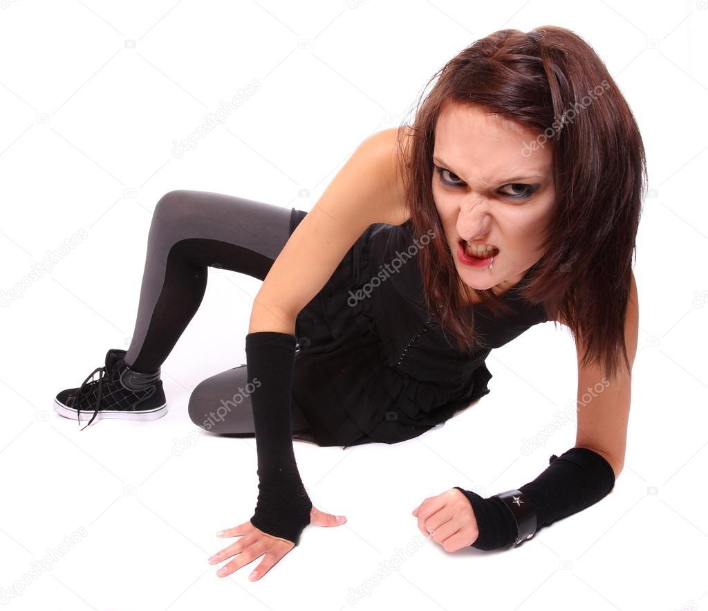 Секси гот девушки