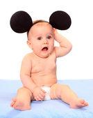 Fotografie portrét roztomilé děťátko