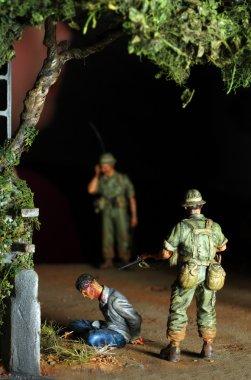 Vietnam War Scene