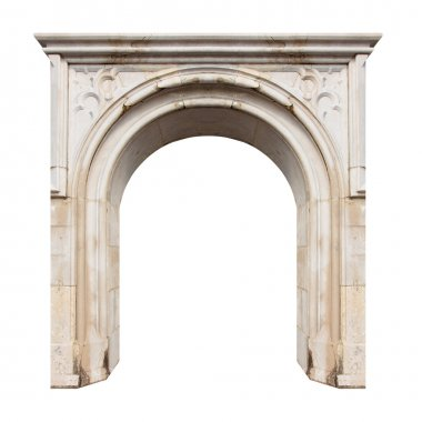 Marble gate with space for your text.